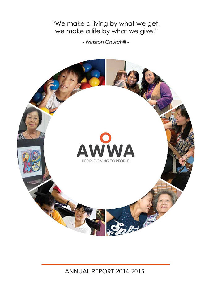 AWWA Annual Report FY2014-2015