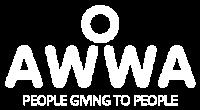 AWWA Web Logo White